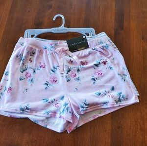 New Laura Ashley super soft pajama shorts large